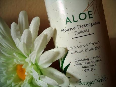 beauty review - aloe mousse by bottega verde