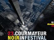 Locandina programma ufficiale XXIII Courmayeur Noir InFestival