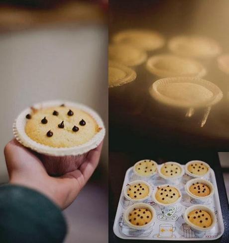 FridayProject - Muffin con gocce di cioccolato