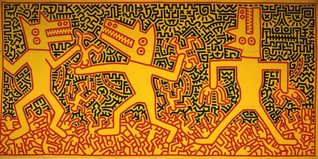 Keith Haring: arte preistorica - Paperblog