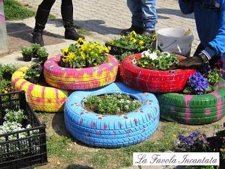 Tante idee originali per decorare il vostro giardino for Idee per arredare i giardini