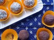 Riciclare avanzi: tartufi cocco cacao