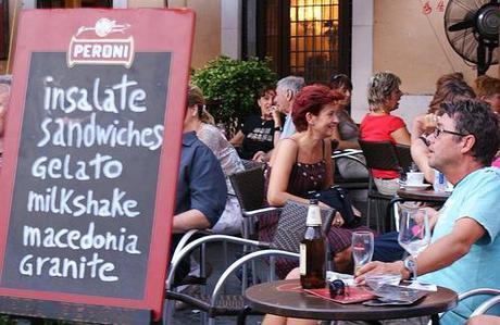 Tourists and Caffe's