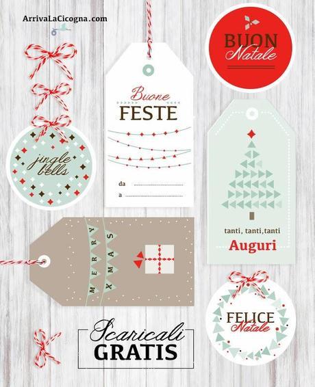 Etichette Per Regali Di Natale Da Stampare.Biglietti Di Auguri Di Natale Da Stampare Gratis Per Voi Paperblog