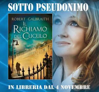 Il richiamo del cuculo di Robert Galbraith, J.K. Rowling