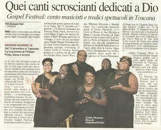Toscana Gospel Festival 2013