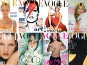 Kate Moss suoi anni Vogue