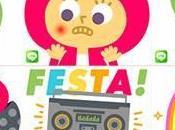 LINE oggi disponibili primi stickers italiani Mauro Gatti
