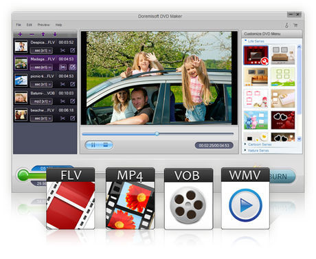 keyfeatured 01 DVD Maker 1.3.3 Gratis: Converti video in tanti formati e crea DVD con Menù facilmente [Windows App]