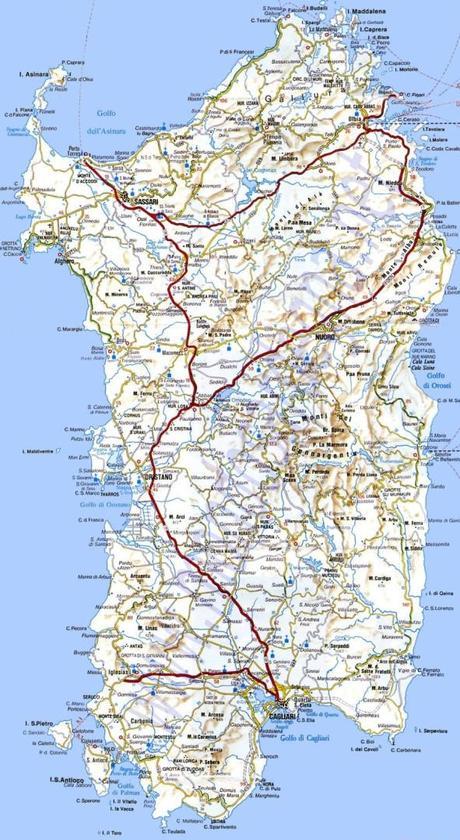 mappa stradale sardegna 591x1080