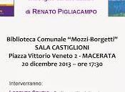 Macerata, presentazione libri Renato Pigliacampo