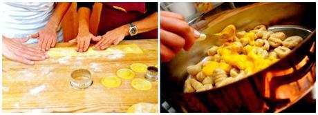 Metti una sera a cena con due cuoche per casa paperblog - Cena tra amici cosa cucinare ...