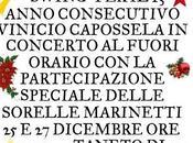 Anche quest'anno Vinicio Capossela porterà Emilia particolarissimo Concerto Natale 2013.