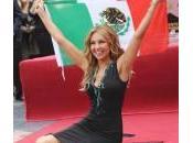 Thalìa, stella sulla Hollywood Walk Fame regina messicano