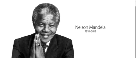 Apple dedica due pagine a Nelson Mandela ed una a Paul Walker