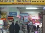 Istanbul, Europa: librerie Akmar Pasajı
