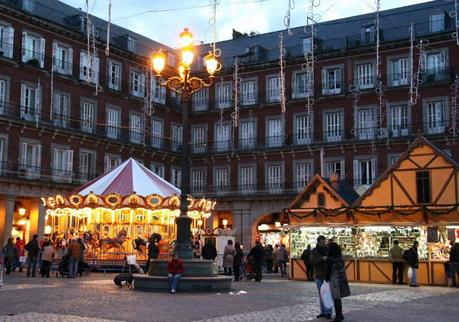 madrid plaza mayor natale