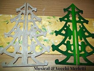 Alcune decorazioni in casa m vm alberelli paperblog for Alberelli da esterno