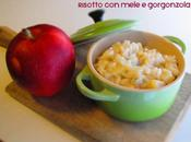 Risotto mele gorgonzola