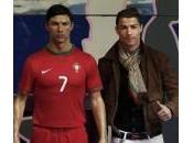 Cristiano Ronaldo statua museo delle cere