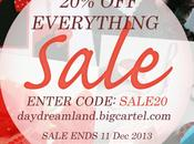 Christmas sale daydreamland eshop