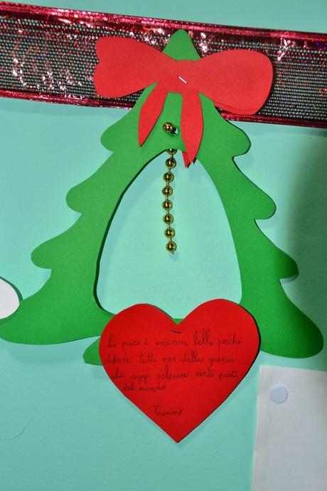Il facile albero di natale da punteggiare paperblog for Addobbi natale scuola infanzia