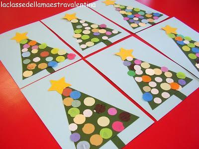 Alberello di natale paperblog for Addobbi natalizi per la classe