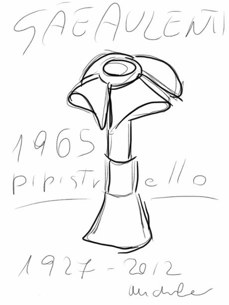Gae Aulenti e la lampada Pipistrello (Dettagli Di Design #2)
