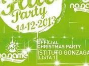 Sabato dicembre 2013 Christmas Fluo Party NOname Lonato (Bs) gadget shirt omaggio.