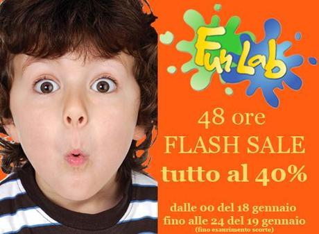FLASH SALE ALL'AMERICANA