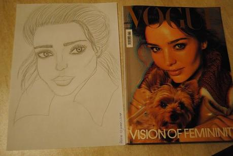 Miranda Kerr on Vogue by me