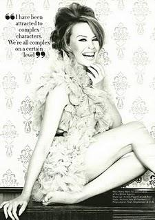 Kylie Minogue su Glamour UK & 'The New Life of Kylie'