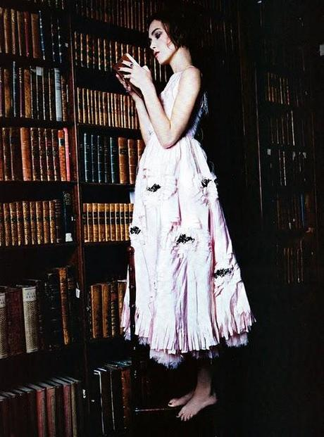 Keira for Vogue Italy || January 2011