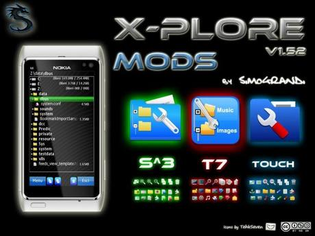 X-Plore v1.52 Mods by Simograndi