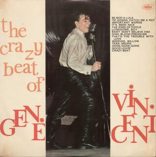 GENE VINCENT - THE CRAZY BEAT OF GENE VINCENT (1963)