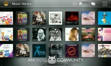 Android: download player musicale di Honeycomb 3.0 per tutti i device