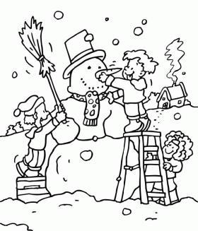Disegni D Inverno Da Colorare E Stampare