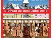 vetrina Bijoux tradizionali davanti Monte Bianco