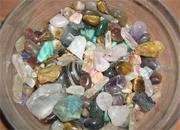 Attivazione delle pietre acqua sale