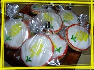 Biscottini mimosa per la Festa della Donna