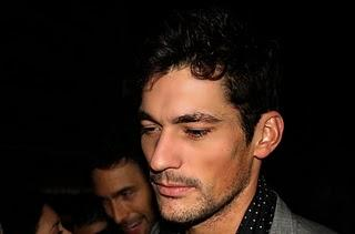 David Gandy & Noha Mills al Party Dolce & Gabbana