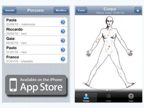 Skin Prevention: diagnosticare un cancro alla pelle con iPhone