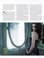 Anne Hathaway in Dolce & Gabbana su GQ Germany