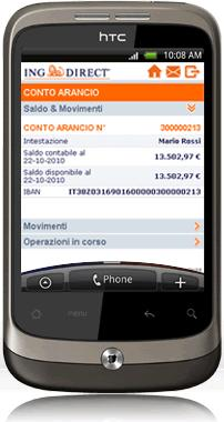 ING DIRECT lancia il mobile banking