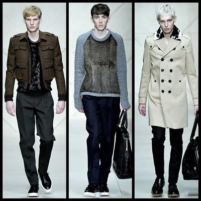 Burberry Prorsum - Milan Man Fashion Week F/W 2011-2012