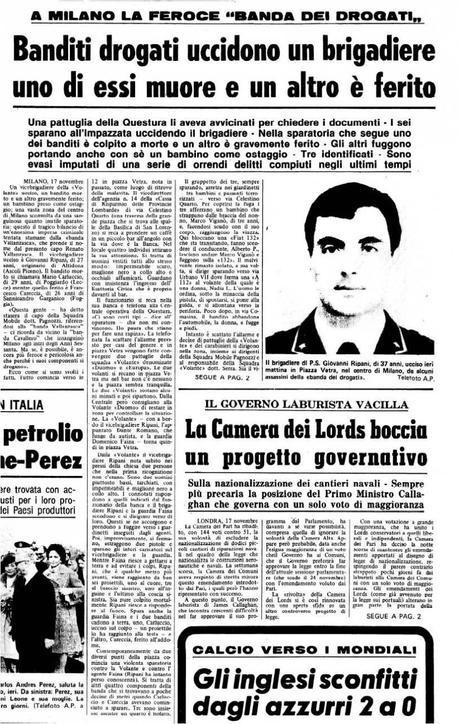 Renato Vallanzasca l'eccezione italiana di una vita dietro le sbarre (non dietro le quinte).