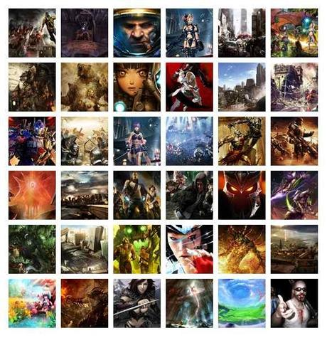 Wallpapers: 230 (video) gaming scenarios