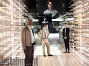 Primo sguardo Johnny Depp Morgan Freeman nelle foto Transcendence