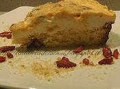 Cheese cake all'arancia bacche goji