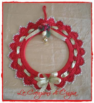 Ghirlande natalizie fuoriporta paperblog - Ghirlande per porte natalizie ...